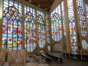 Insode Joan Of Arc Chapel, beautiful contemporary design